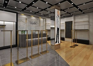 lady garment shop interior design