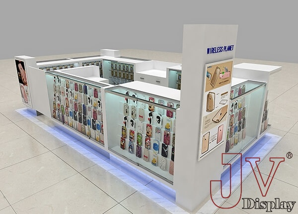 mobile phone accessories kiosk