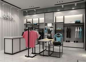 clothes shop decoration