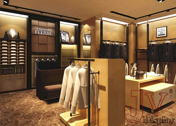 equipment for retail clothing store