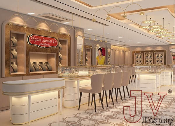 jewellery shop interior design india
