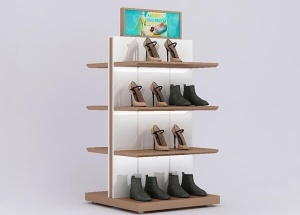 retail shoe display shelves