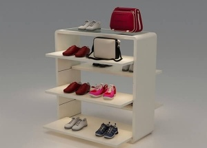shoe shop display rack