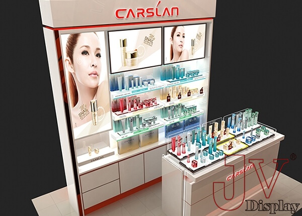 skin care display stands
