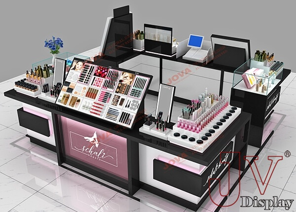 cosmetic retail kiosks