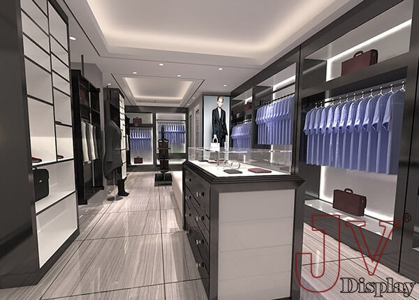 garments showroom design
