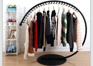 round hanging clothes racks