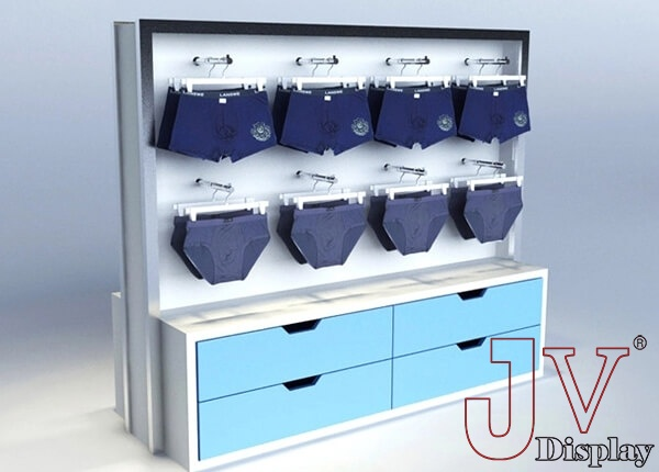 underwear display showcases
