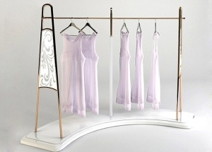 retail garment display rack