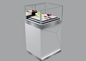 tower jewelry display case