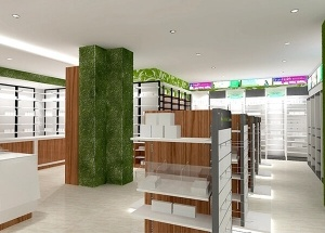 pharmacy interior design