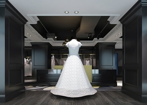 wedding dress shop design